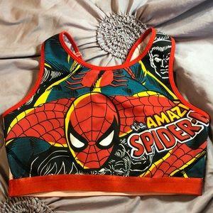 Marvel sports bra